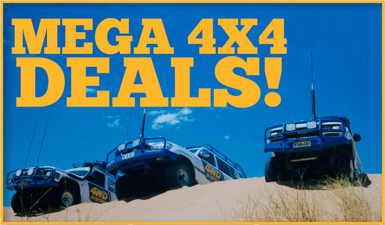 MEGA 4X4 DEALS! Launch Feb 23rd